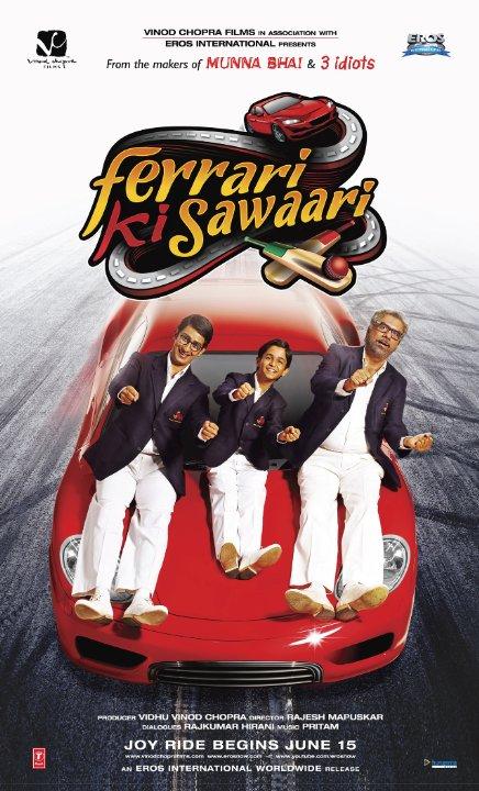Ferrari Ki Sawaari 2012 Künye Fragman Movie Trailer Sinema